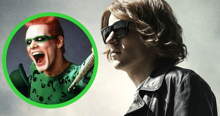 Did Jesse Eisenberg Almost Play the Riddler in 'Batman v Superman'? -- Jesse Einsenberg auditioned for a cameo role in 'Batman V Superman' not expecting to take on the role of main villain Lex Luthor. -- http://movieweb.com/batman-v-superman-riddler-jesse-eisenberg/