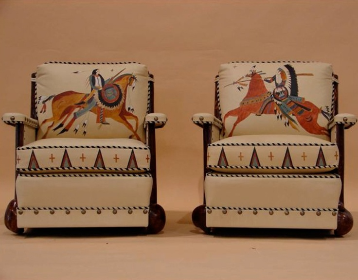 58 best thomas molesworth western furniture images on for Native american furniture designs