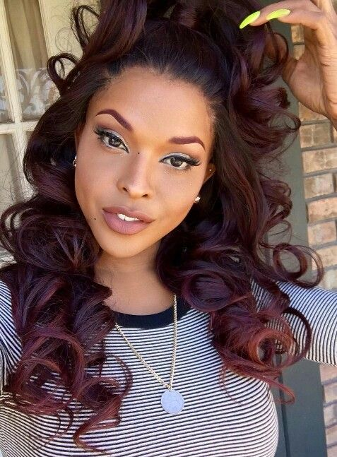 86 Best Half Amp Half Hairstyles Images On Pinterest
