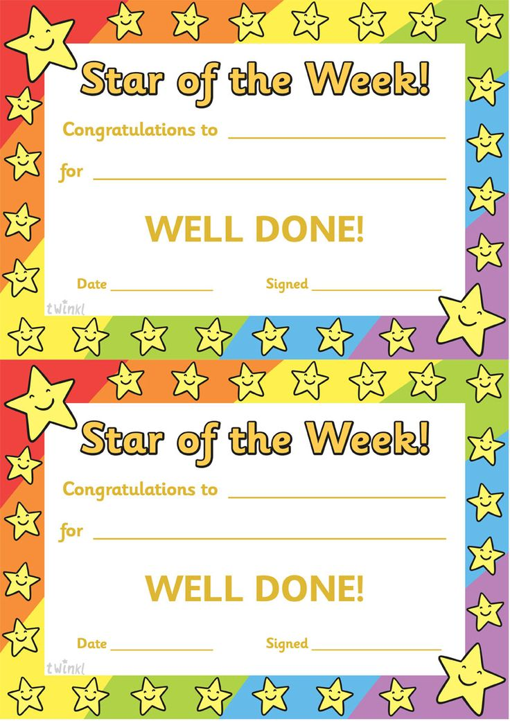Twinkl Resources U003eu003e Star Of The Week U003eu003e Thousands Of Printable Primary  Teaching Resources
