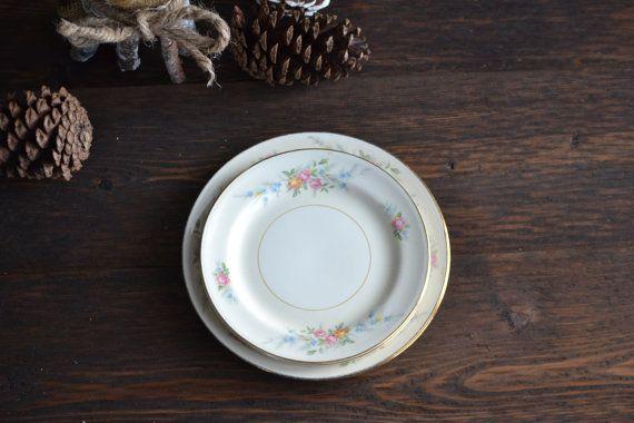 Set of Five 5 Homer Laughlin Plates Ferndale by JadeandLoren