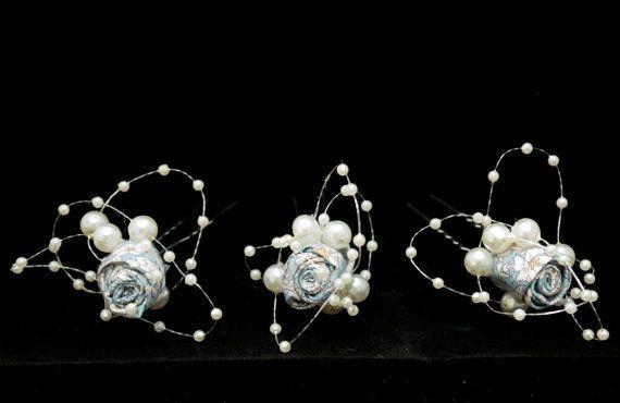 Flower Hair Pins - SVHP101