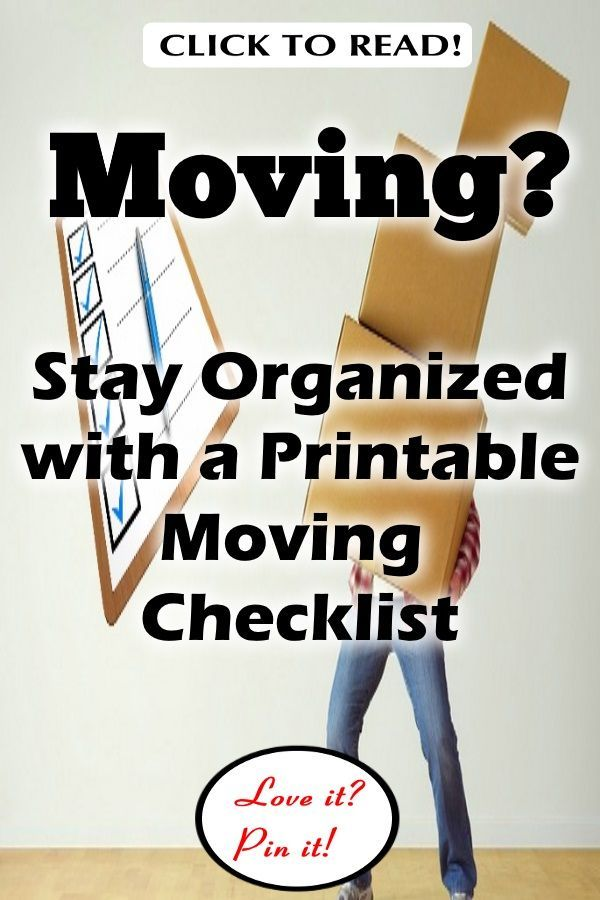 graphic about Stay Organized With a Printable Moving Checklist called 11 Excellent Guidelines towards Continue to be Prepared with a Printable Relocating