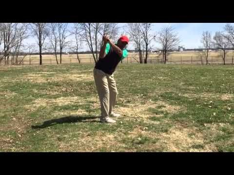 Downswing Sequence: Trail Elbow under Lead Elbow- Solid Contact!! - YouTube