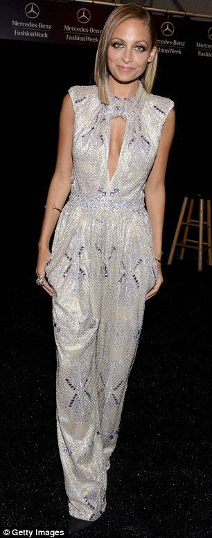 Fantastic four: Nicole Richie sported four different outfits on Wednesday, when she hosted the Style Awards