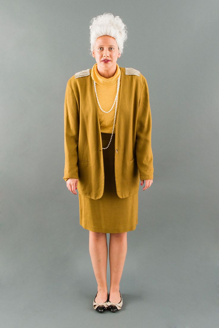 Unleash your inner Madame D from Grand Budapest Hotel this Halloween.