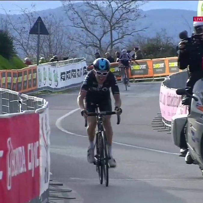 A rival for André Greipel's wattage bomb that was just delivered, has to be Geraint Thomas who just did the business at Tirreno Adriatico!  Who wins today's #WattageBazooka ?! Let us know 👇  Eurosport capturing the footage as ever! #ridetoabudhabi #cycling #race #roadtripafter #sport #langkawi #malaysia #maestro #pp #pippo #pozzato #pippopozzato #me #life #lifestyle #lifeisgood #madeinitaly #wilier #springtime #sun #ridewithpanache #bike #bikesgirls #beyourself #thirstythursday #cyclingkit…