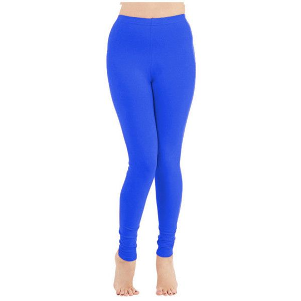 Women's Ultra Soft Leggings with Wide Waistband ($5) ❤ liked on Polyvore featuring pants, leggings, royal blue, royal blue leggings, royal blue pants, wide waistband leggings, ankle length pants and blue pants
