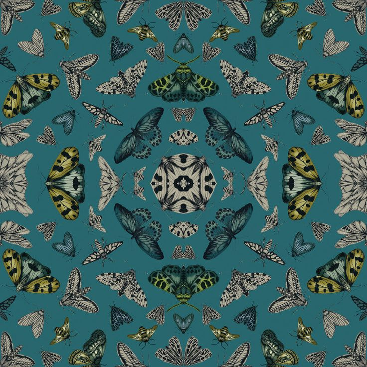 Arthouse Glitter Bug Emerald Glitter Wallpaper 692309