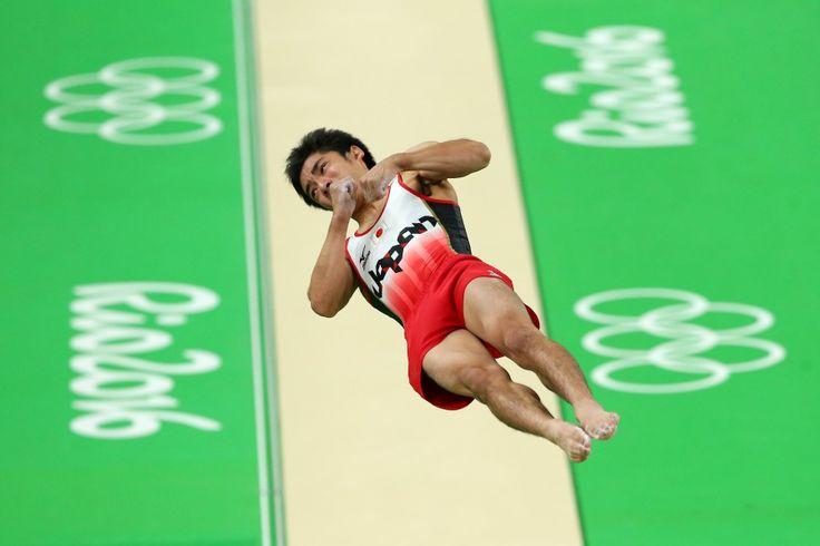 リオ五輪第10日。体操。白井健三が跳馬で銅メダル=ブラジル・リオデジャネイロ