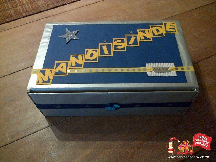 wrapped wrapped box shoebox well occ shoebox making children children ...