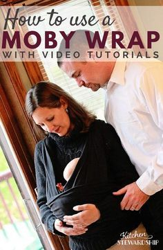 Can you breastfeed with no hands, walking? You can with a Moby Wrap! Basic instructional video tutorial on how to use a Moby Wrap how to nurse a baby in the Moby.