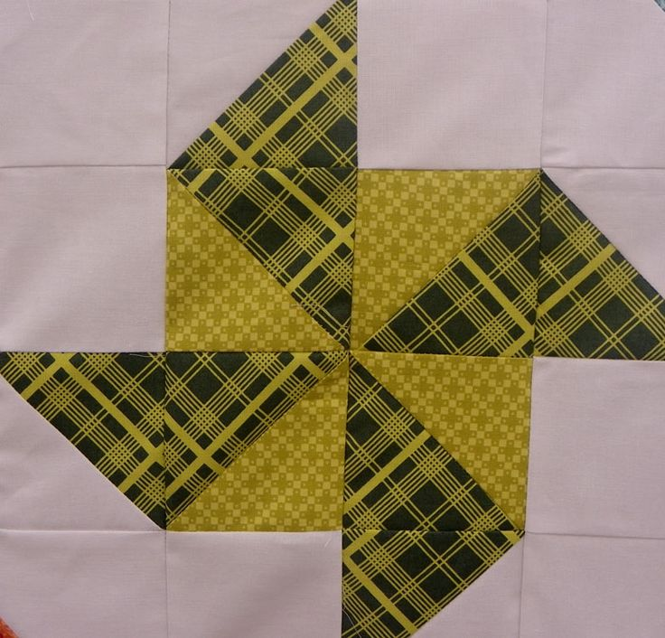 1/2 triangle square blocks | ... eight points coming together in the centre of the block, this one