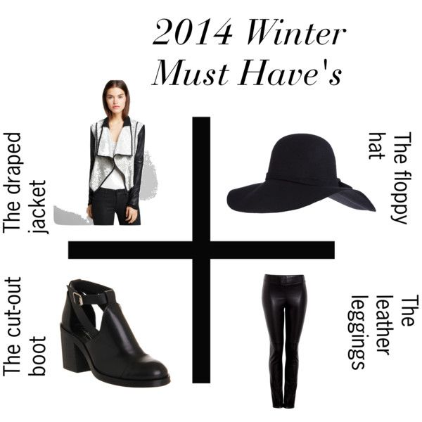 """2014 Winter must-have's"" by daniidf on Polyvore"