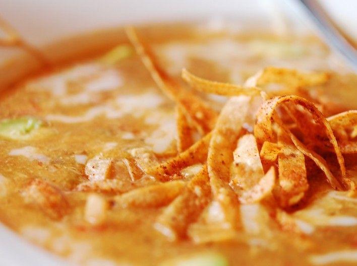 Eva Longoria's Tortilla Soup - I've heard this is amazing!