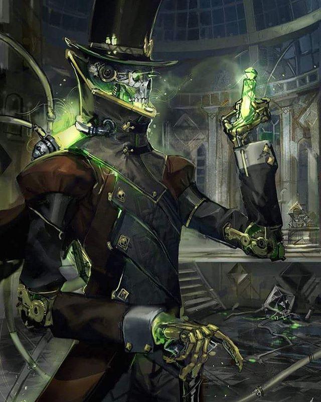 Steampunk artwork by Travis Anderson #steampunktendencies #steampunk #steampunkart #art #fantasy