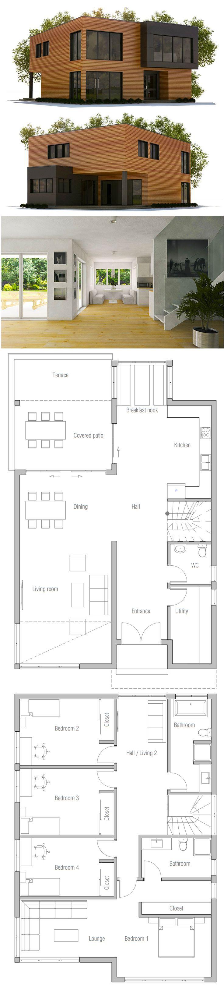 house design house plan ch395 100 1735 best Architecture