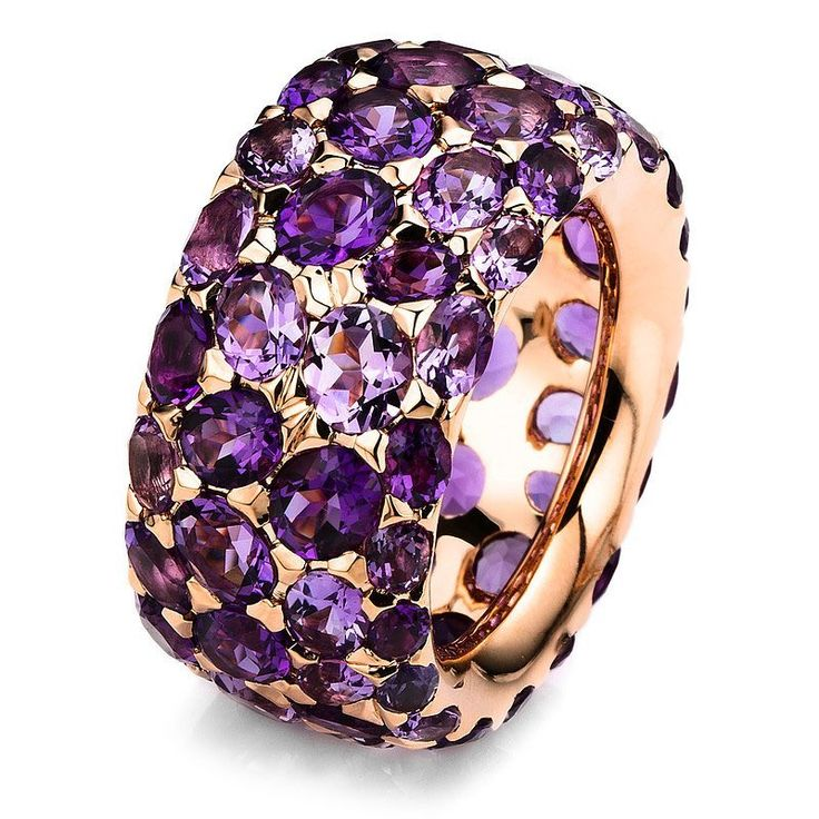 "Amethyst Ring by UDOZZO - FINE JEWELRY (@udozzo) on Instagram: ""Something we've never done before. How do you like it? Double tap and leave a comment. Btw, this…"""