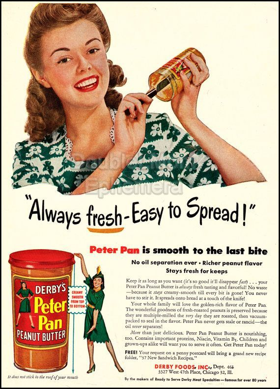 best peter pan essay images peter o toole peter image result for peter pan peanut butter vintage advert 1950s