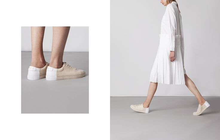 THEY New York Lookbook - Handcrafted Minimal Sneakers