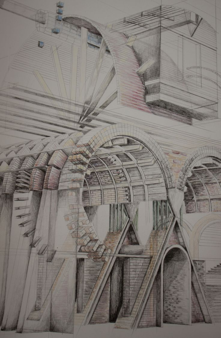 London Brickworks Project - Brickmakers lodge sketch perspective