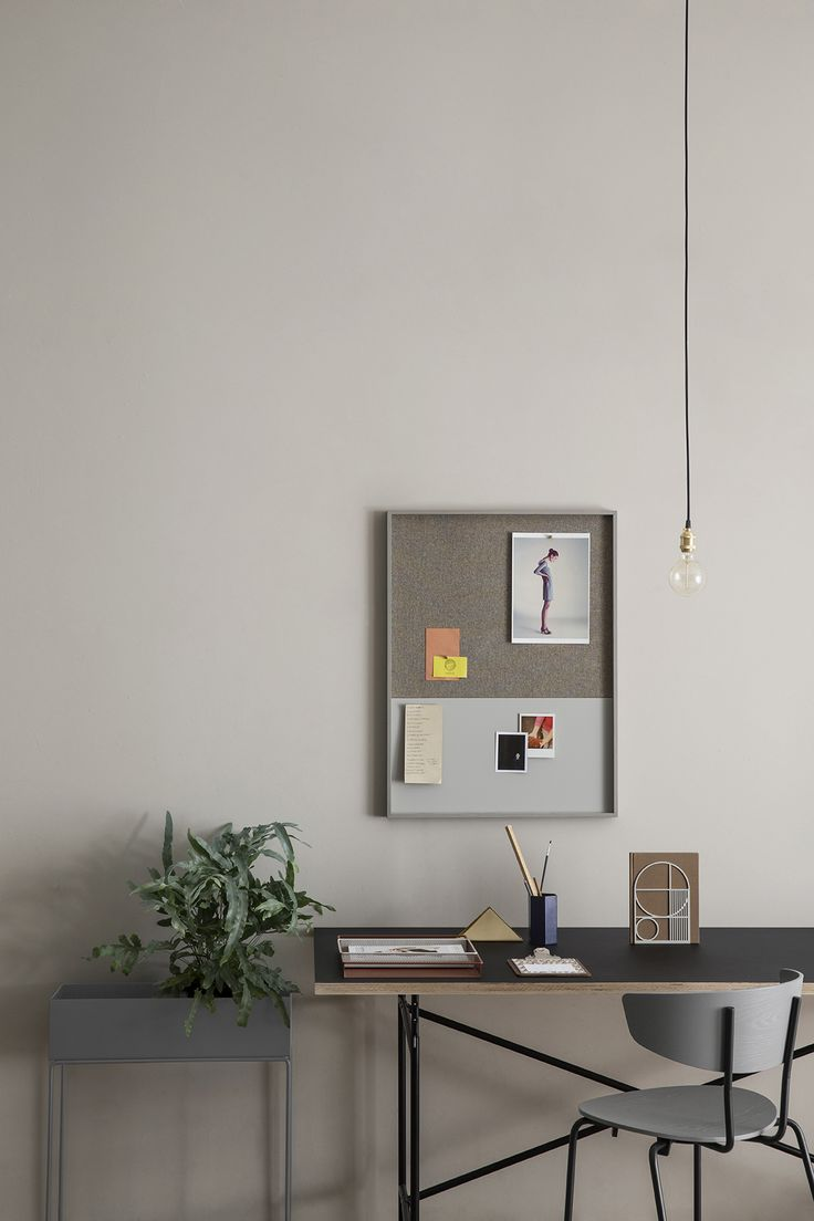 Ferm Living Plant Box - Dark Grey // Available at themodernshop.ca