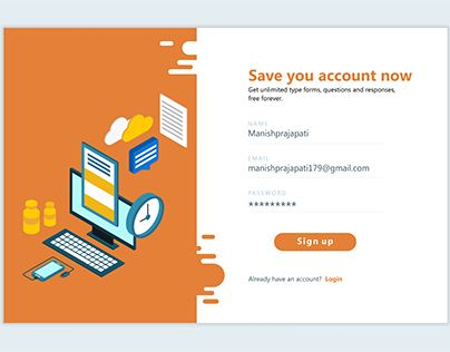 """Check out new work on my @Behance portfolio: """"save you account"""" http://be.net/gallery/51611543/save-you-account"""