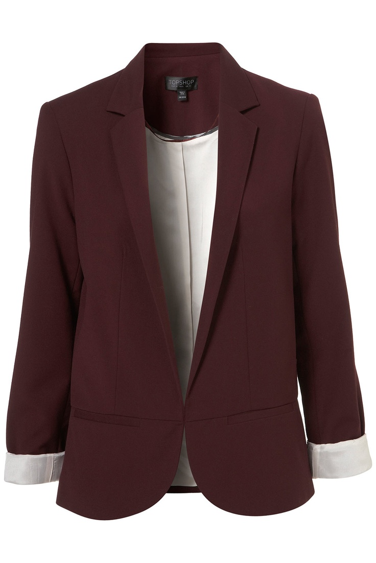 Structured Blazer - Jackets - Apparel - Topshop USA $130