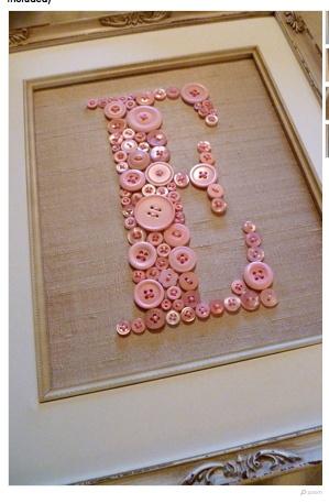 Babies bedroom doors?   LOVE the buttons!