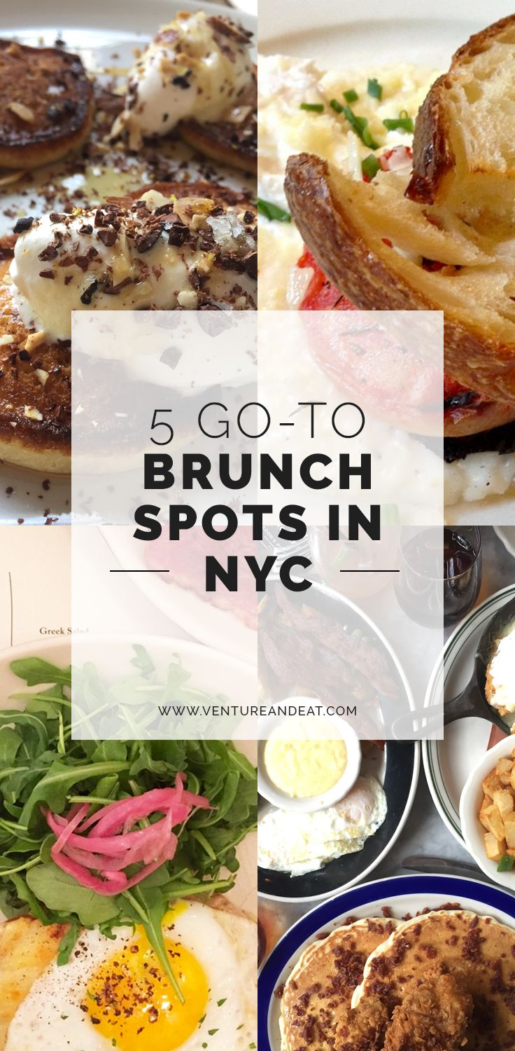 Need a spot for brunch in NYC? Pick one of my go-to brunch spots in the city!