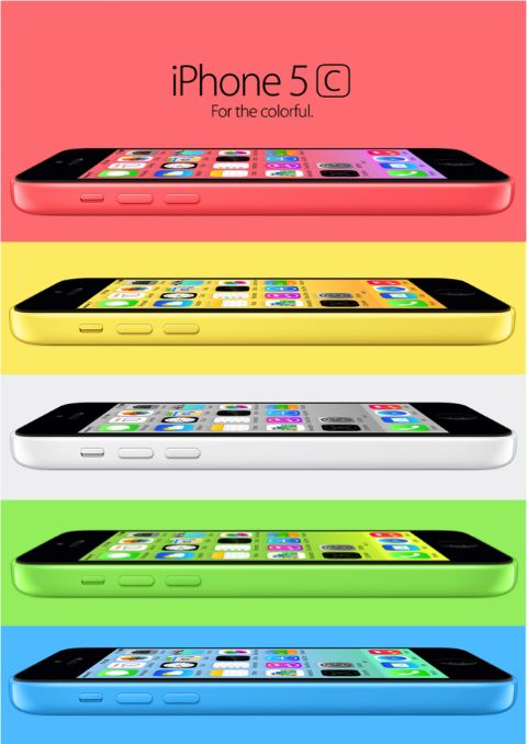 I have the iPhone 5c but I have the blue one. I really want the yellow one!