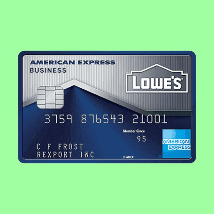 Lowe S Business Card Review Lowe S Rewards Calculator Business Credit Cards American Express Business American Express Business Card