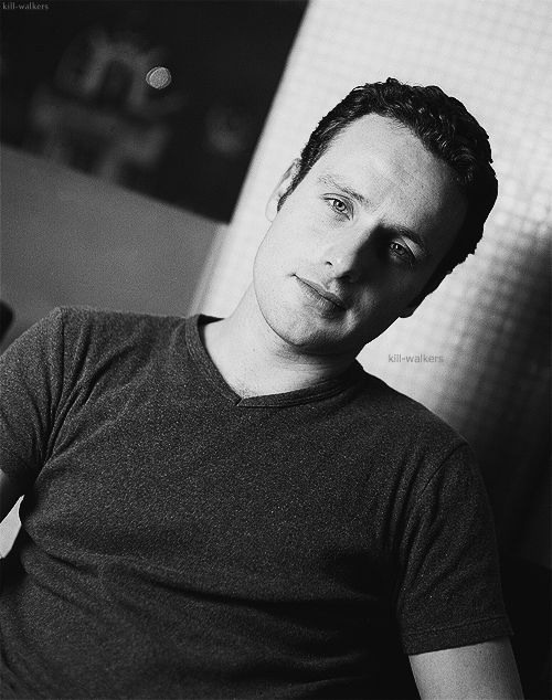Andrew Lincoln (The Walking Dead) Loved him since Love Actually :-)