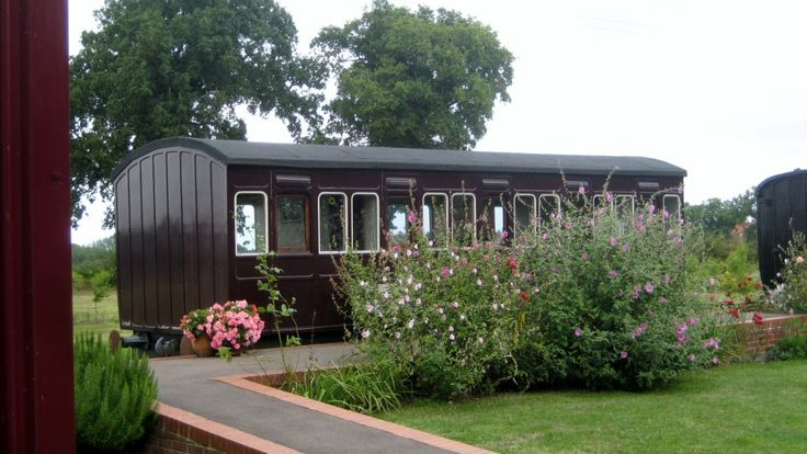 Image result for rail carriage house selsey images