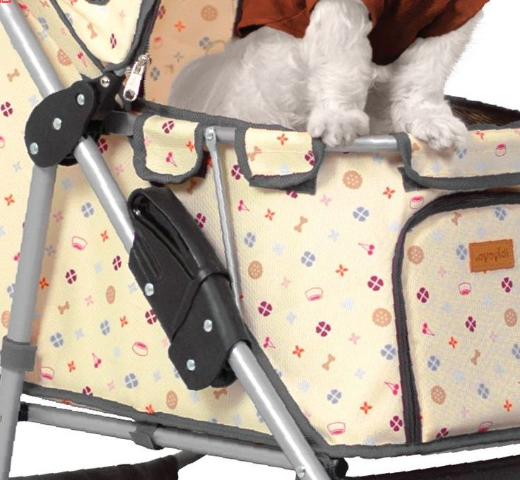 Louis Vuitton Dog Stroller