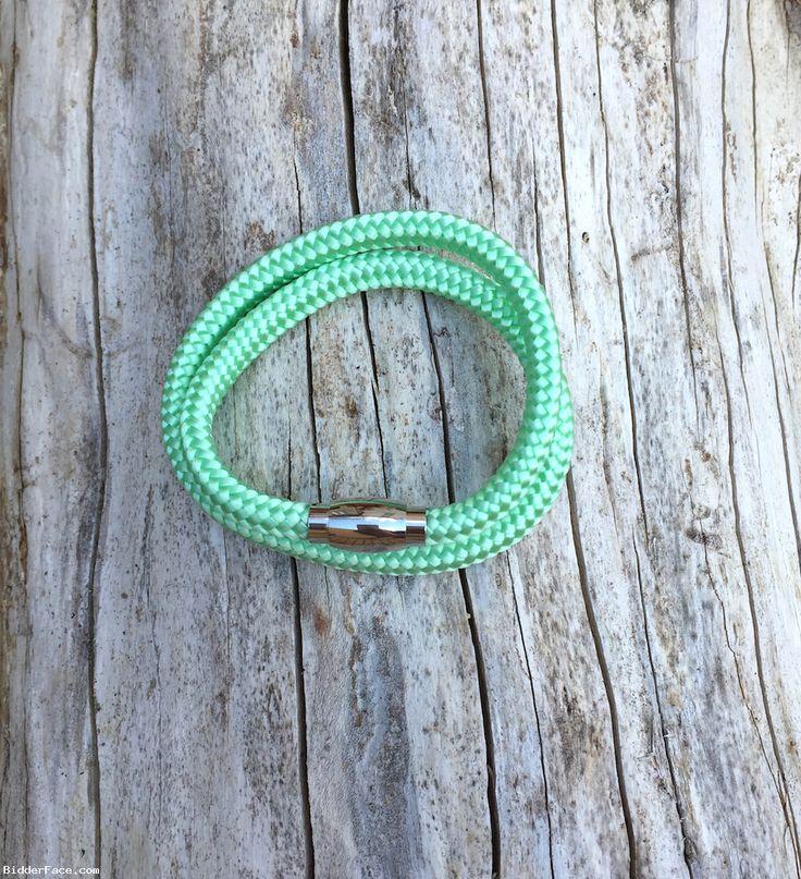 Bright mint bracelet  / Mentolový náramok