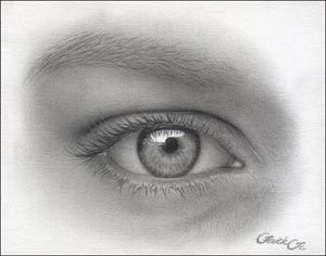 drawing the human eye, art tutorial