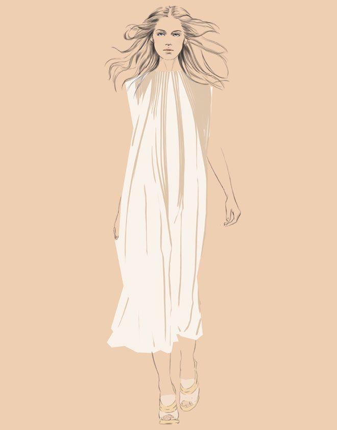 Chloe fashion illustration