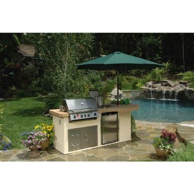 bull outdoor products aspen q ii outdoor natural gas grill island perfect for outdoor it seats four adults and includes a btu grill