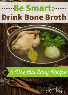 What is Bone Broth, why you should drink it and an easy recipe that you can prepare with bone broth.