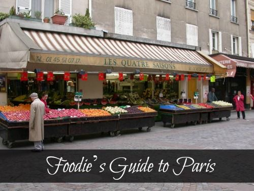 A Foodies Guide to Paris via Plum Deluxe