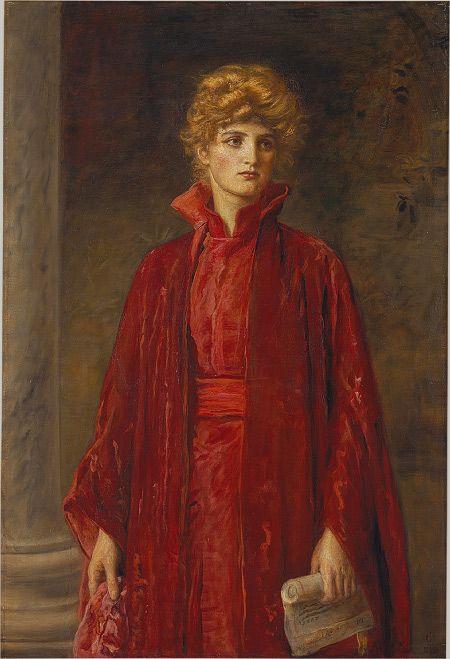 Pre-Raphaelites and Shakespeare: Portia - Pre-Raphaelite Sisterhood