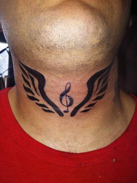 CUCHO TATTOO: Tatuaje en la garganta