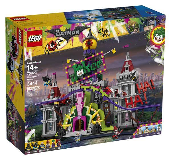Nouveau set The LEGO Batman Movie 70922 The Joker Manor : presque comme celui du film: LEGO n'en a pas fini avec The LEGO Batman… #LEGO