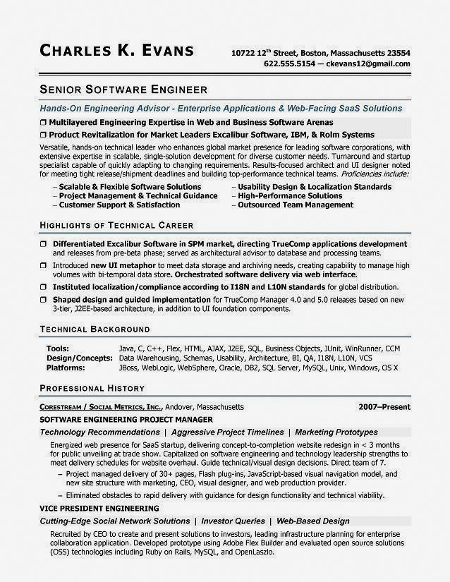 Resume Examples Software Engineer Resumeexamples JobInterviewQuestions ResumeExamplesInterviewQuestions