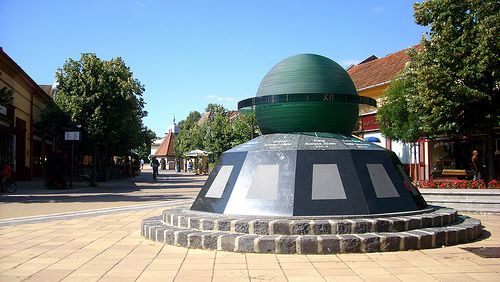 World clock - Gyula, Hungary - its just 20-25 min from our house
