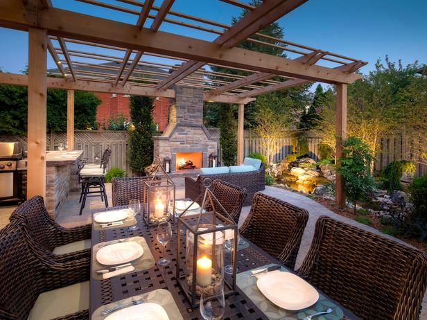 Create an Outdoor Haven - 20 Outdoor Structures That Bring the Indoors Out on HGTV