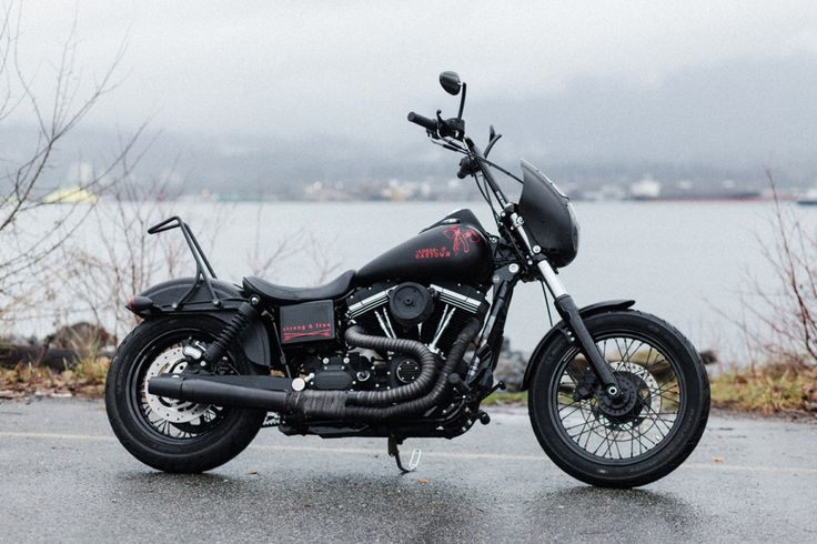 Lords of Gastown x Barnes Harley-Davidson Limited Edition ʻStrong & Free' Custom Street Bob | Hypebeast Mobile
