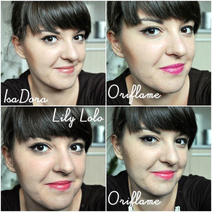 #makeup #me #girl #polishgirl #lipstick #lipsticks #favourite #favouritelipstick #fav #isadora #oriflame #lilylolo