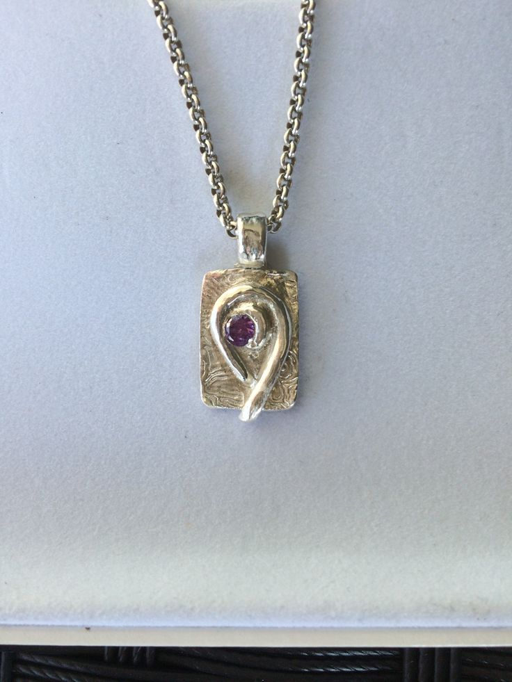Art clay silver and cubic zircona